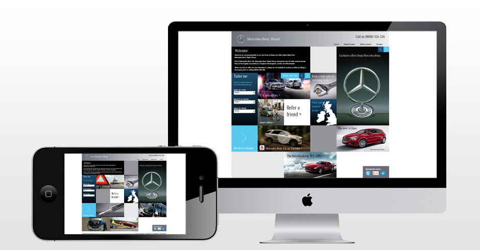 Mercedes-Benz events, PR, advertising and marketing