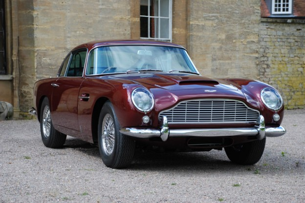 Marketing support for classic Aston Martin dealer Desmond J.Smail